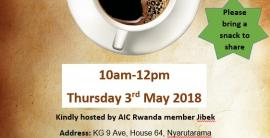 May 2018 Coffee Morning